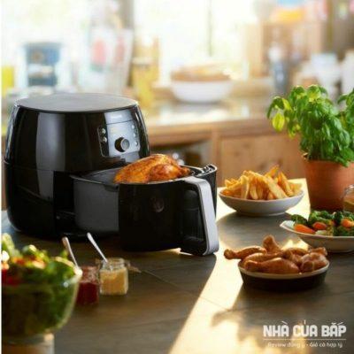 Nồi chiên không dầu Philips HD9650 chế độ nấu đa dạng